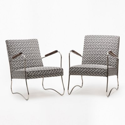 Pair of Modernist armchairs from the 1960s