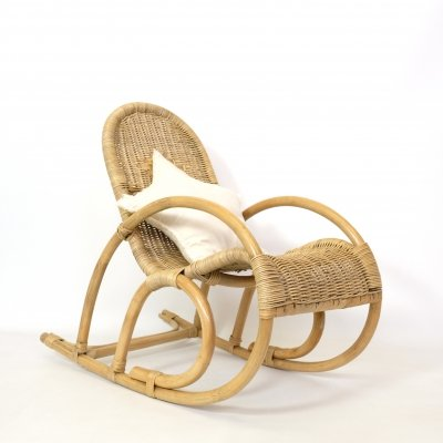 Child's rocking chair from the seventies