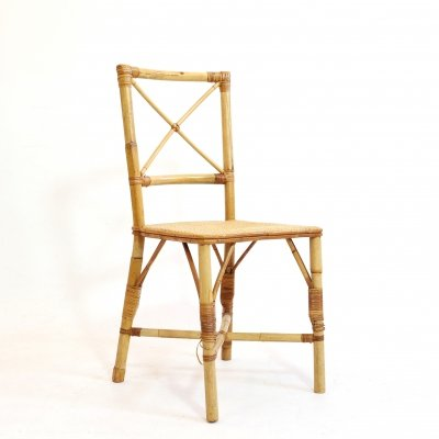 Little rattan chair from the 1960s-1970s