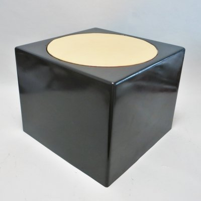 Cubo stool by Luigi Pellegrin for MIM Roma, 1970s