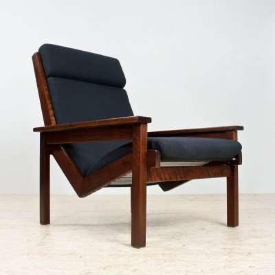 Mid century Rob Parry armchair in solid wood, 1960s