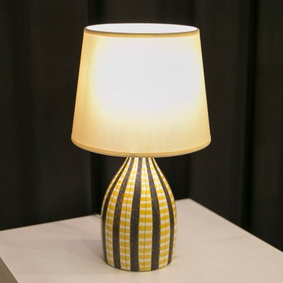Table lamp by Stig Lindberg for Gustavsberg