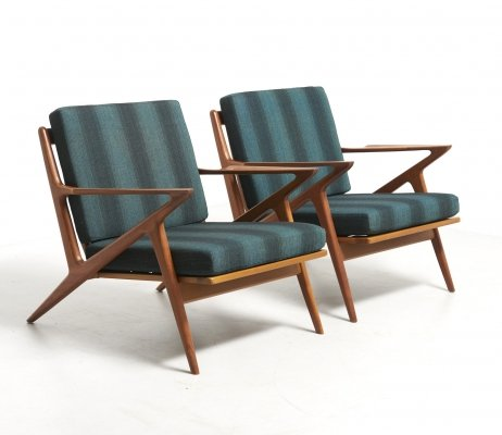Pair of Z-Chairs by Poul Jensen