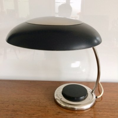 1950's Space Age large UFO Design Table Lamp