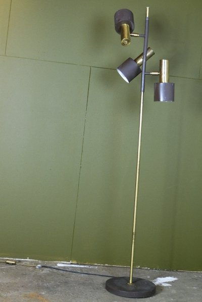 Koch & Lowy OMI floor lamp, 1960s