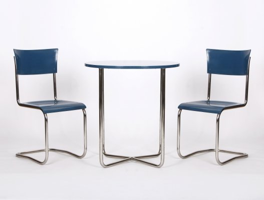 Steel tube seating set, 1930s