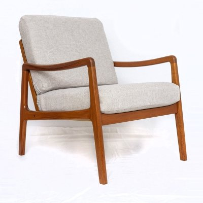 Ole Wanscher FD 109 Teak Lounge Chair, 1950s