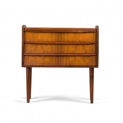 Danish rosewood single nightstand, 1960s