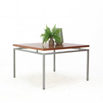 Square Mid-Century Modern Copper Coffee Table
