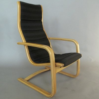 'Lamello' Lounge Chair by Yngve Ekstrom for Swedese, 1970s