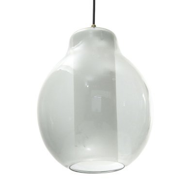 Midcentury Italian pendant lamp with layered glass diffusers, 1960s