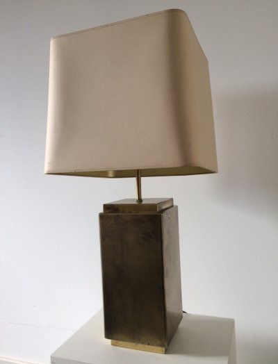 Midcentury Design Brass Height Adjustable Table Lamp, 1960's