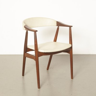 Model 213 dining chair by Th. Harlev for Farstrup Møbler, 1950s