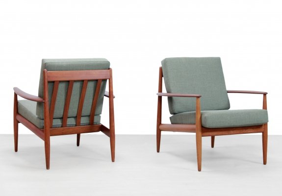 Set of two Grete Jalk lounge chairs for France & Son
