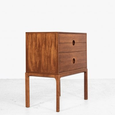 Chest of 3 drawers in teak by Kai Kristiansen for Aksel Kjersgaard, 1960s