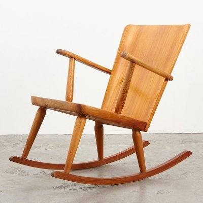 Goran Malmvall Rocking Chair for Karl Andersson & Soner, 1940s