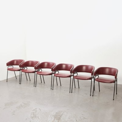 Rare set of 6 'model AP-22' Chairs by Hein Salomonson & Theo Tempelman for AP Originals, 1960