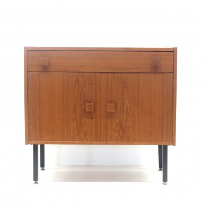 Vintage cabinet with two doors & a drawer, 1960s
