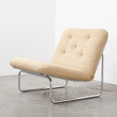 Rare Kho Liang Ie Lounge Chair P656 for Artifort, 1960s
