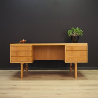 Model 76 writing desk by Omann Jun Møbelfabrik, 1960s