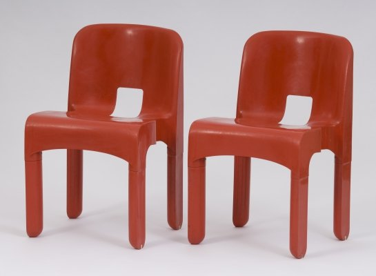 2 x lounge chair by Joe Colombo for Kartell, 1960s