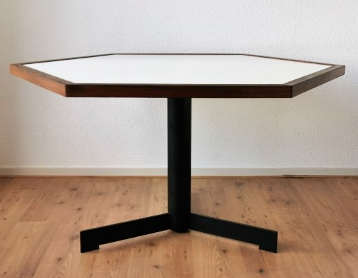 Dutch Hexagon Dining Table, 1970's