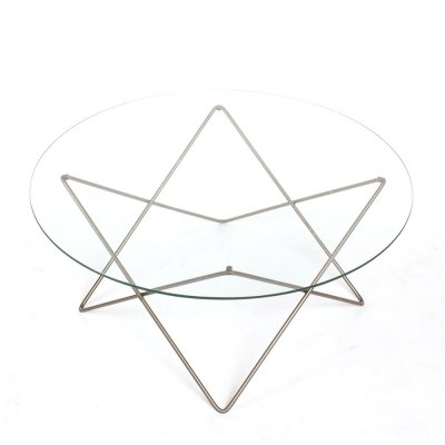 Vintage atomic shaped coffee table, 1960s