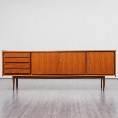 Mid Century Walnut Sideboard by Royal Board, Sweden 1960s