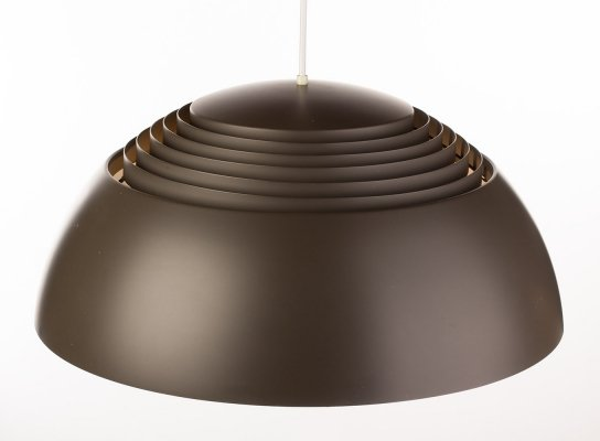 Vintage AJ Royal lamp in taupe by Arne Jacobsen for Louis Poulsen, 1957