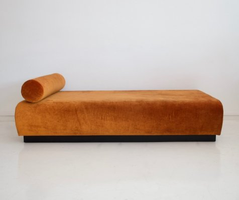 Suzanne Guiguichon Daybed with Rusty Velvet Upholstery