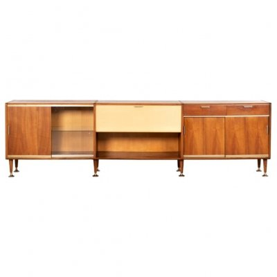 Walnut 'Poly-Z' Sideboard by A.A. Patijn, Netherlands