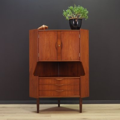 Omann Jun Corner cabinet in teak, 1970s