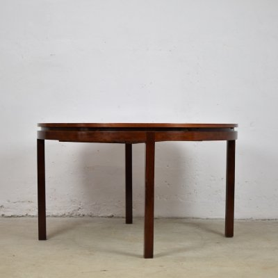 Rosewood dining table by Alfred Hendrickx for Belform, Belgium 1960's