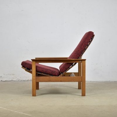 Rare pair of lounge chairs by Georges Vanrijk for Beaufort, Belgium 1960's