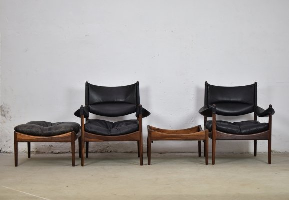 Rare 'Modus' seating group by Kristian Vedel for Søren Willadsen, Denmark 1963