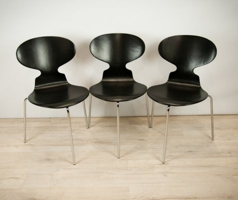 3 x Myran Chair by Arne Jacobsen for Fritz Hansen, 1960s