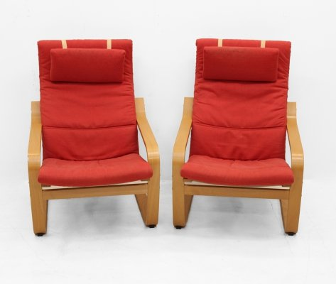 Pair of IKEA design seats, 1991