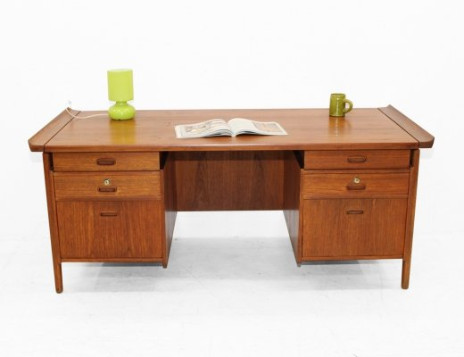 Danish Double sided desk, 1960s