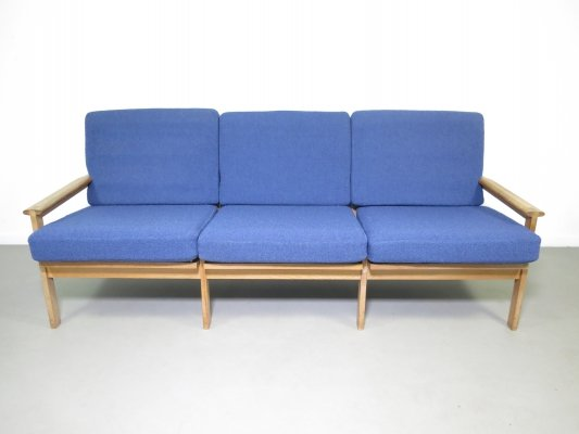 3 seater oak sofa by Børge Mogensen for Fredericia Stolefabrik