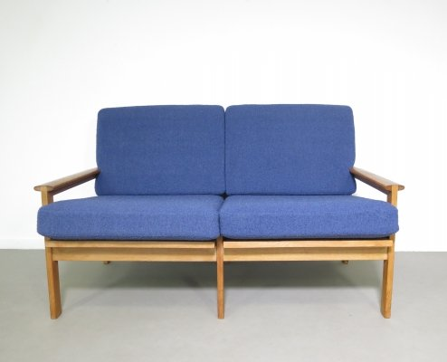 2 seater oak sofa by Børge Mogensen for Fredericia Stolefabrik