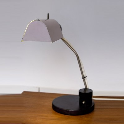 East German Desk Lamp in pale pink
