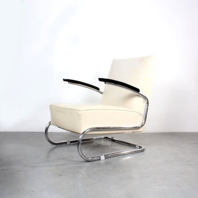 S411 arm chair by Thonet, 1950s