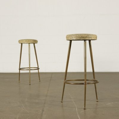 Pair of 1950s Stools