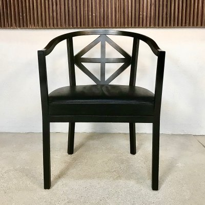 Villa Ast Chair by Josef Hoffmann for Wittmann, 1980s