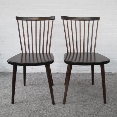 Vintage Pair of dining chairs, 1960s