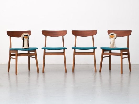 Set of 4 dining chairs from Farstrup Møbler, 1960s