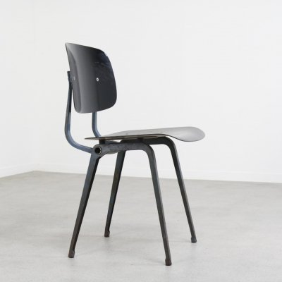 Early 'Revolt' chair by Friso Kramer for Ahrend de Cirkel, NL 1950s