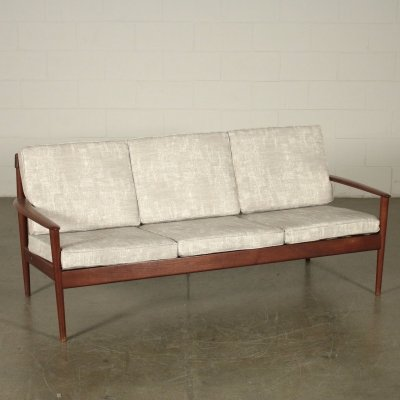 Vintage Sofa by Grete Jalk for Poul Jeppesen