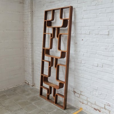 3 x Roomdivider wall unit by Ludvík Volák for Dřevopodnik Holešov, 1960s