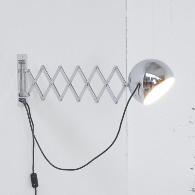 Scherenlampe wall lamp by Ingo Maurer for Design M, 1960s